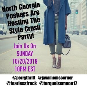 So excited to be co-hosting Sunday's Style Party!